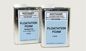 Whitaker Flotation Foam 2 gal kit 4lb density